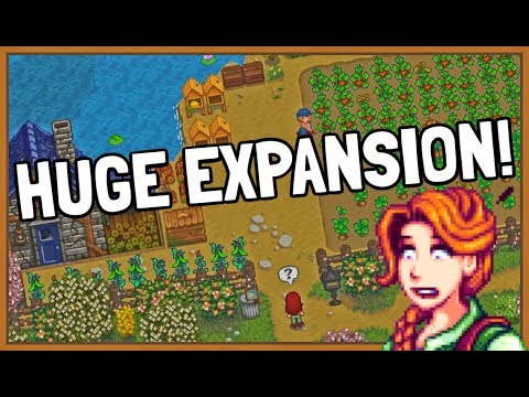 NEW Stardew Valley Huge EXPANSION with New NPC'S and More!
