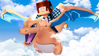Minecraft: VOANDO NO MEU CHARIZARD !! (Parque Pokémon #09)