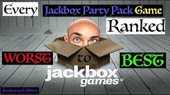 All Jackbox Party Pack Games Ranked Worst to Best