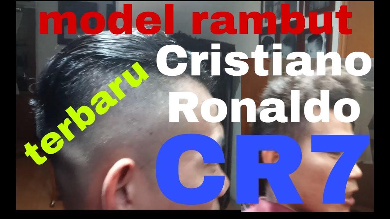 Model rambut Cristiano Ronaldo CR7 terbaru - YouTube
