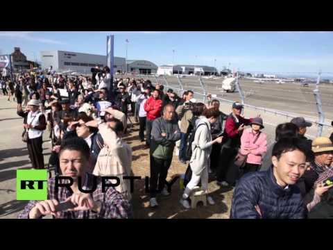Japan: Mitsubishi successfully flies Japan