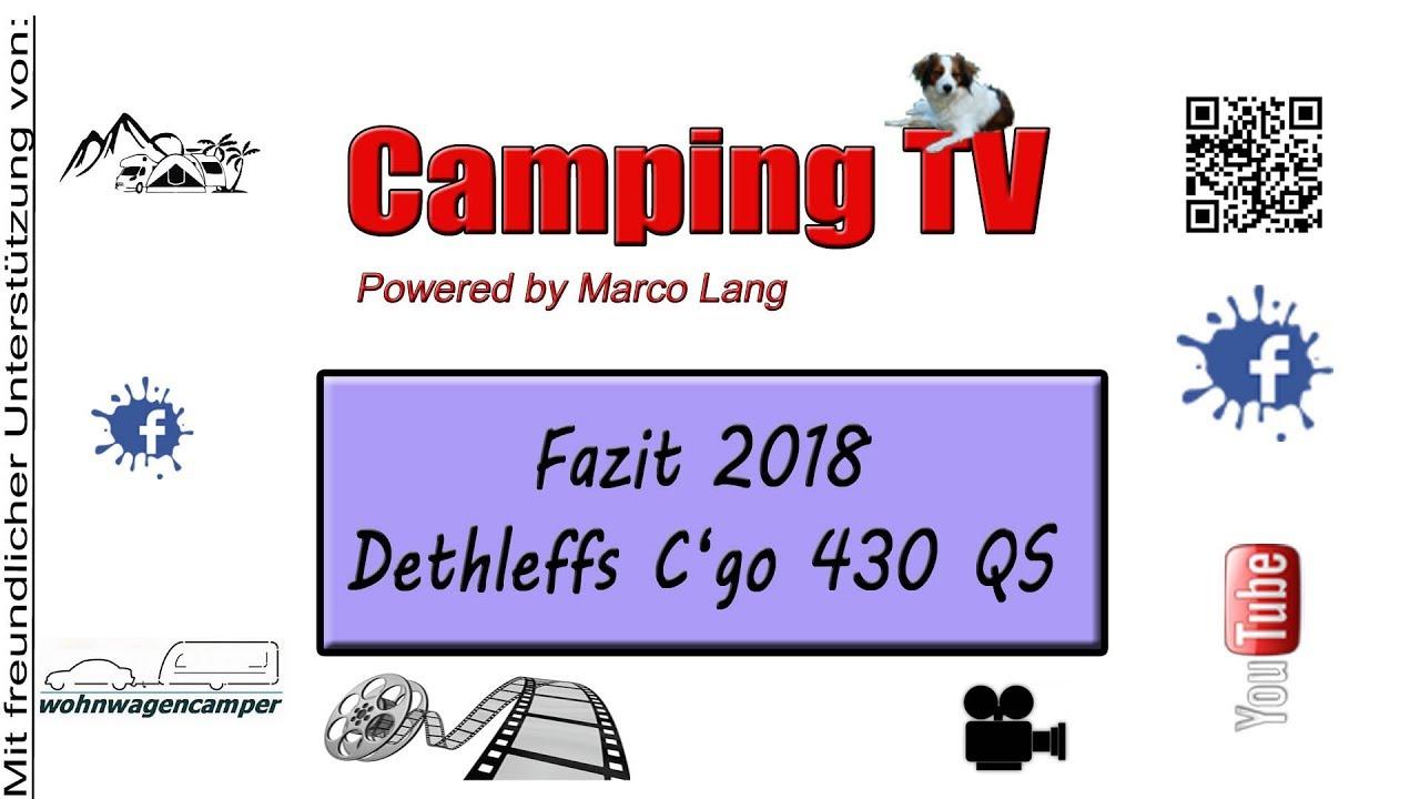 Fazit 2018 Dethleffs Cgo 430 Qs Youtube