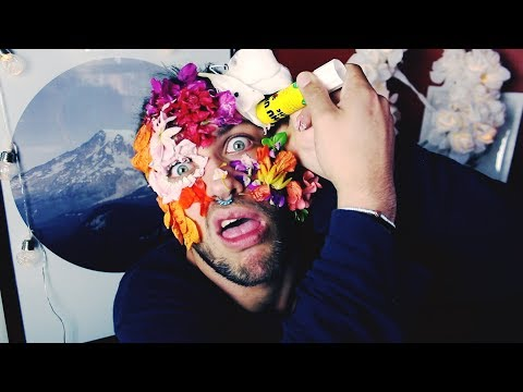 GLUING FLOWERS TO MY FACE