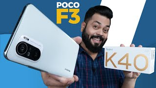 Redmi K40 AKA POCO F3 Unboxing And First Impressions ⚡ 120Hz AMOLED, SD 870 \u0026 More