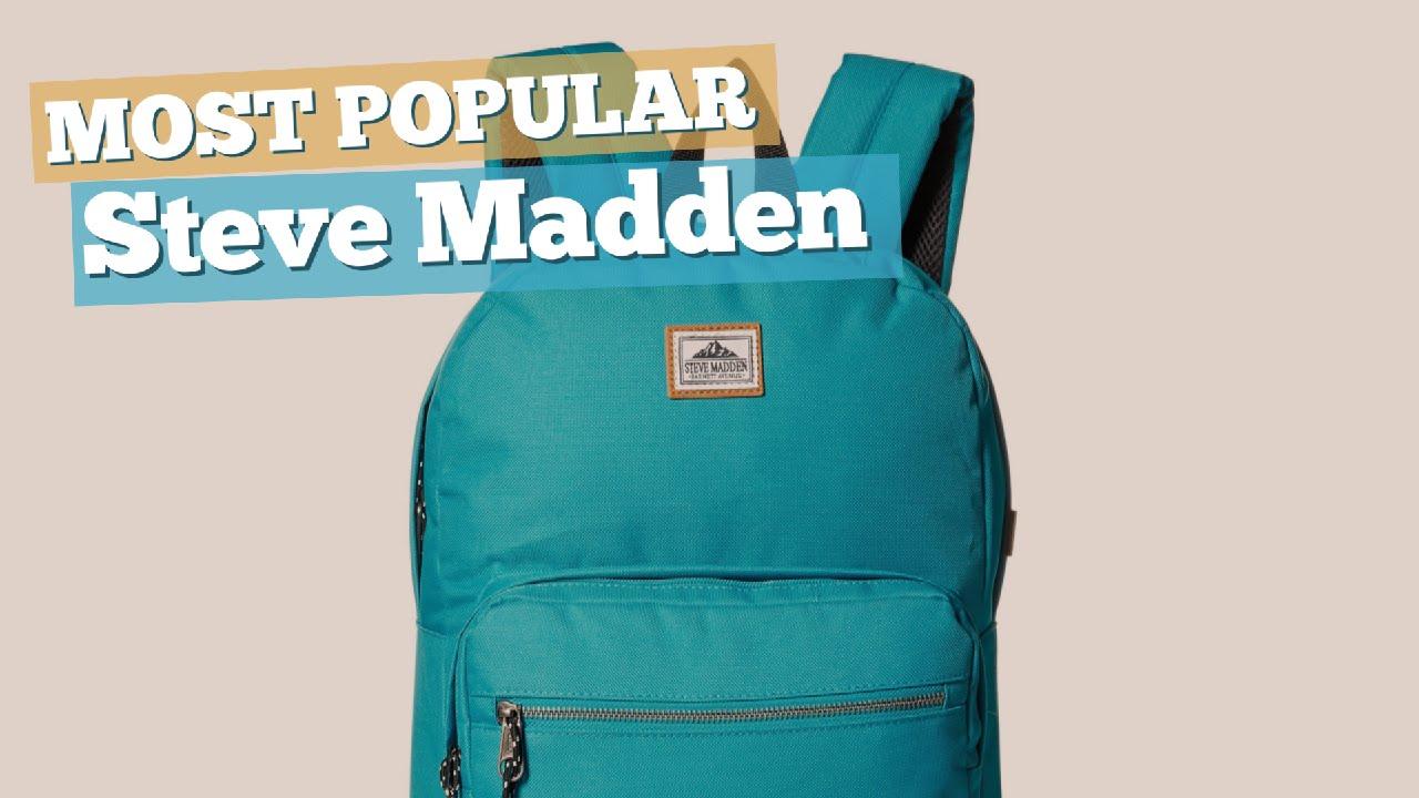 7c8a5e8176 Steve Madden Backpacks For Men // Most Popular 2017 - YouTube