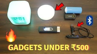 Unique Gadgets Under Rs500 | Part 7 | Tech Unboxing 🔥