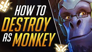 The ONLY Winston Guide You'll EVER NEED: Pro Dive Tips to CARRY | Overwatch Guide (Grandmaster)