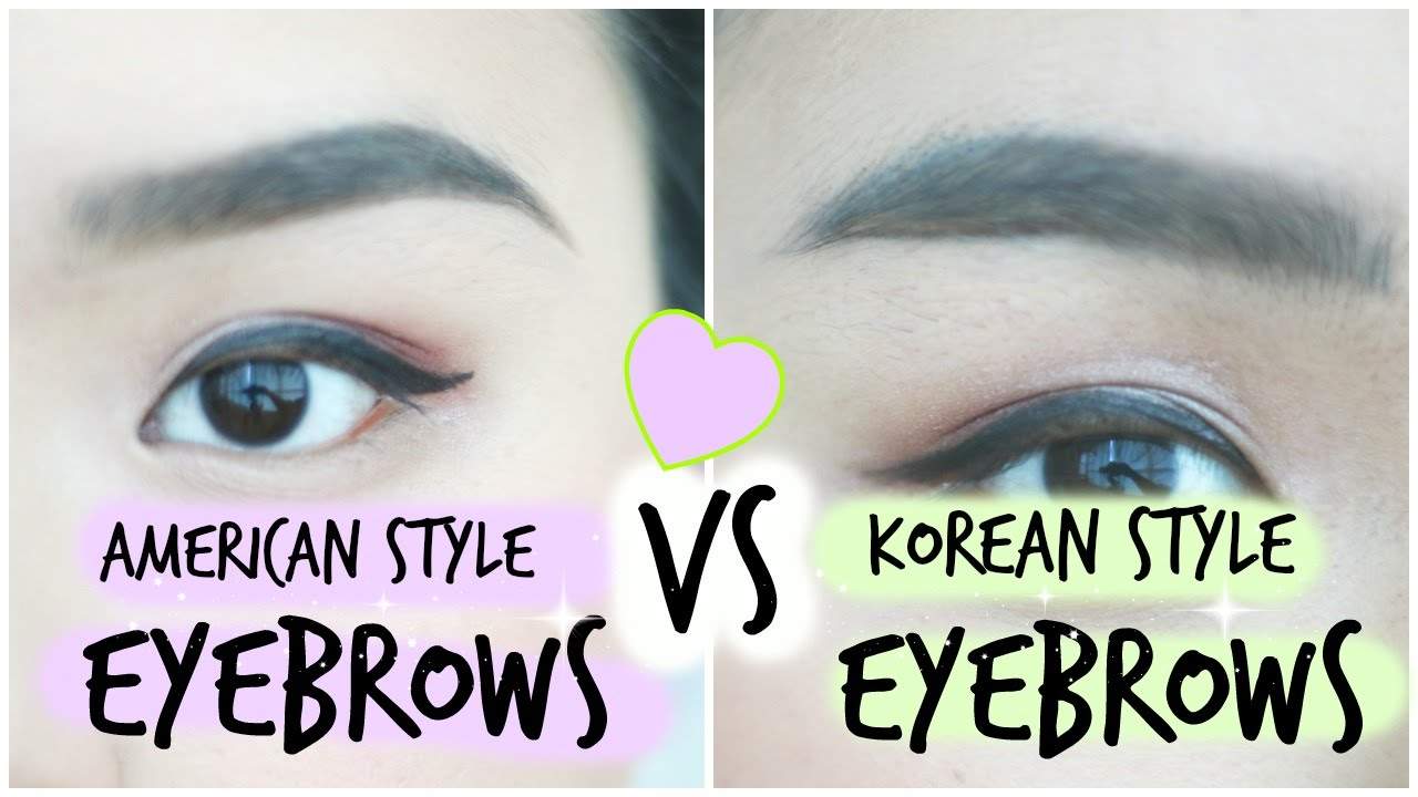 eyebrow-korean-vs-american