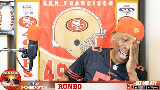 Ronbo Sports In Yo Face, At Yo Place Watching The Game! 49ers VS Seahawks 2016 Week 3 NFL