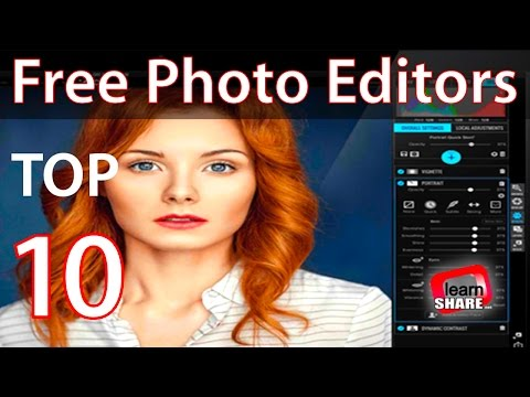 Best Free Photo Editing Software 2017