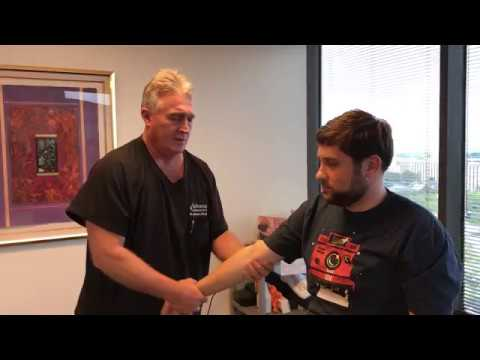 Full Body Adjustment On San Francisco Chiropractic Patient By Houston Chiropractor