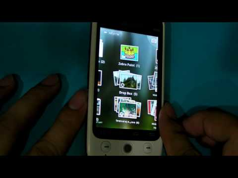 Android 2.1 Eclair on WellcoM A88 3D Photos Gallery