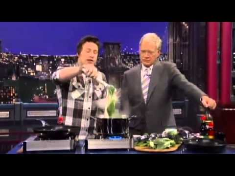 Thumbnail: Jamie Oliver owns David Letterman