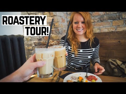 DELICIOUS BUFFET AND COFFEE ROASTERY TOUR! + Riga Culture To