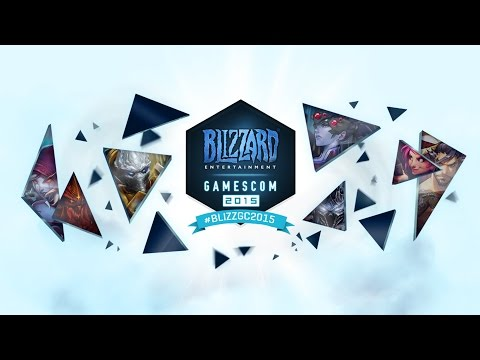 Gamescom Live Stream: Hearthstone and Heroes of the Storm - August 7, 2015 #BlizzGC2015