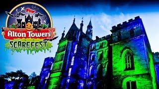 Alton Towers Scarefest Vlog October 2019
