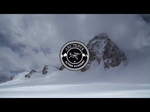 Arc'teryx Alpine Academy - Crossing a Bergschrund