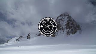 Crossing a Bergschrund