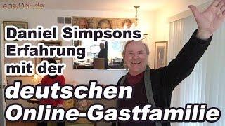 So hat Daniel Simpson mit unserer Online-Gastfamilie Deutsch gelernt.