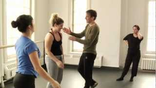 partnering class with Sylvain Lafortune