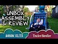 AOSOM Elite Bike Trailer and Stroller : Assembly, Review and How-To