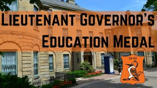 Lieutenant Governor's Education Award
