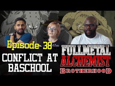 Fullmetal Alchemist: Brotherhood - Episode 38 Conflict at Baschool - Group Reaction