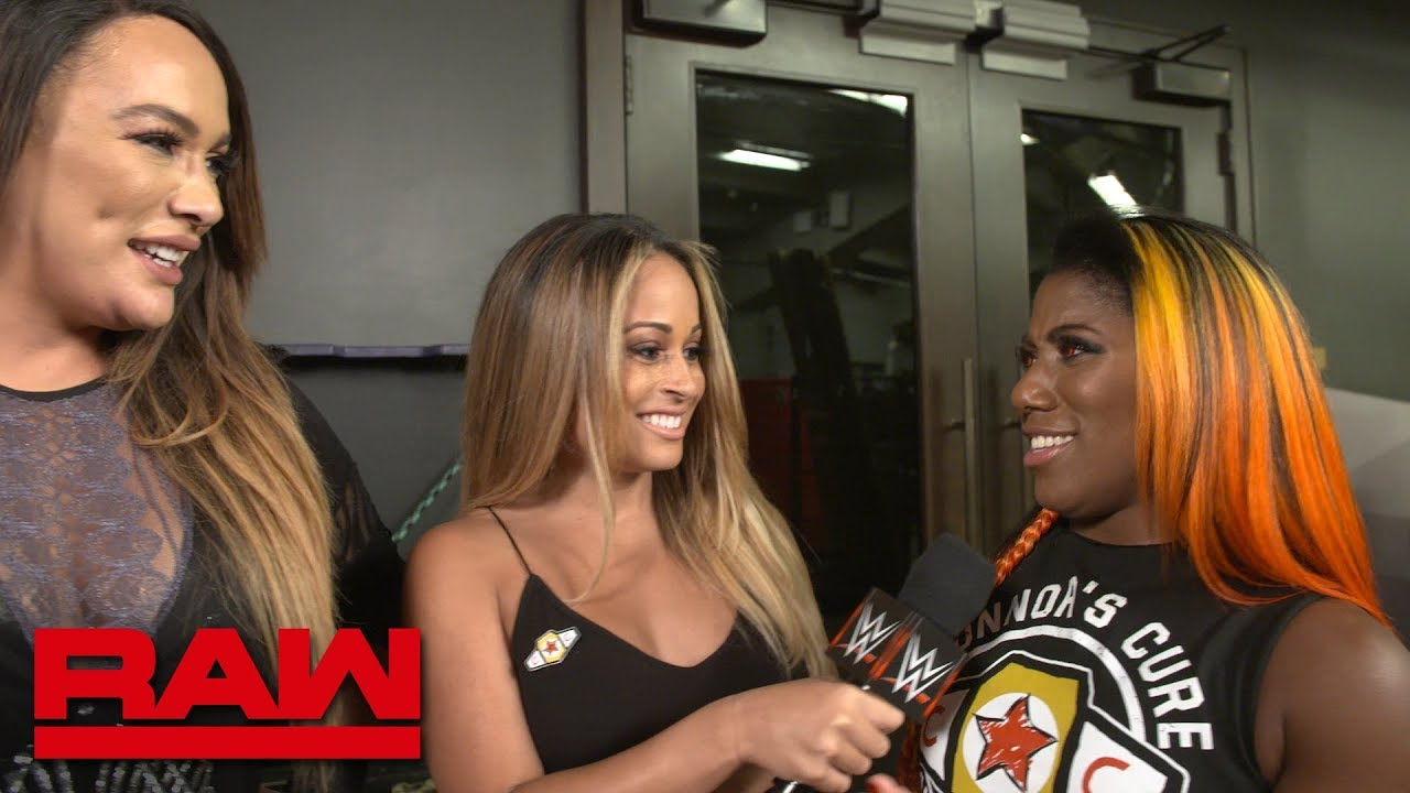 Nia Jax and Ember Moon discuss their new friendship: Raw Exclusive, Sept. 24, 2018