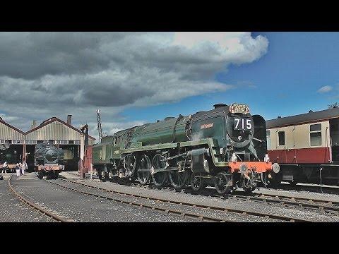 A day at Didcot Railway Centre w/ 70000 Britannia & 5322 - 26/08/12