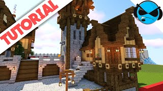 Minecraft: How To Build A Simple Medieval House Tutorial YouTube