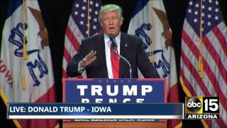 full very animated speech donald trump in des moines ia