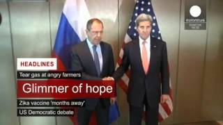 12 February 2016 - euronews afternoon headlines