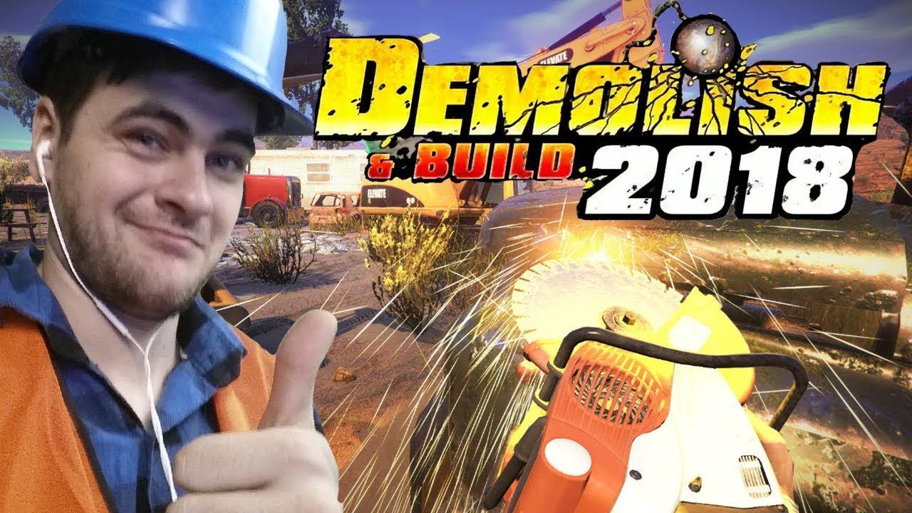 SYMULATOR DEMOLKI I BUDOWANIA – Demolish & Build 2018