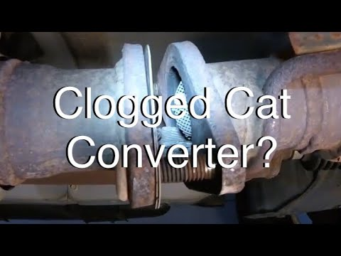How I Figured Out Exhaust Restriction (Clogged Catalytic Converter)