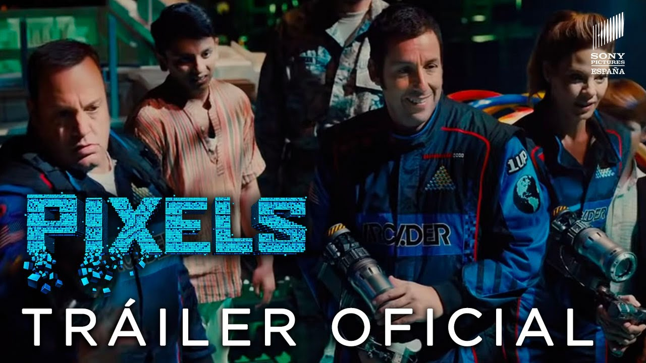 Pixels Tráiler Final Oficial Hd En Español Ya En Cines Youtube