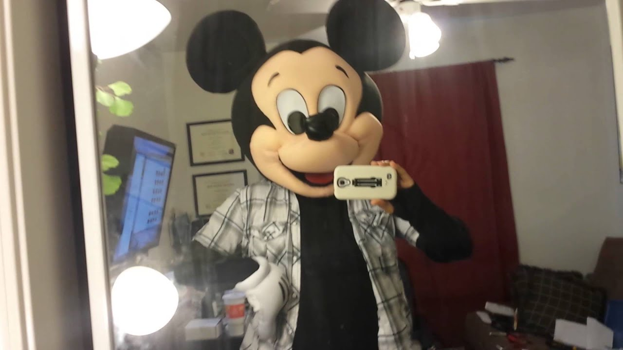 Animatronic mouth test mickey mouse - YouTube