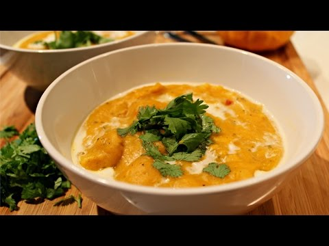 Butternut Squash Soup with Coconut Milk Recipe