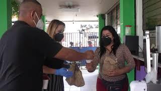 Entrega de  ¨Sub D'Rose¨  a Empleados Administrativos Municipales   de parte de Hugo Martinez