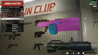 GTA Online Space Guns Gameplay First Person