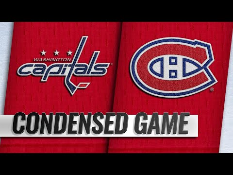 11/19/18 Condensed Game: Capitals @ Canadiens