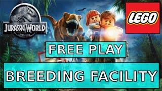 Lego Jurassic World Breeding Facility Free Play 100% - All Minikits - Characters - Collectibles
