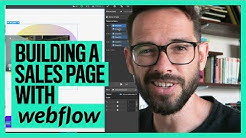 Building a sales page with Webflow