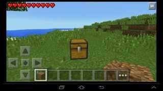 Как дюпать вещи и блоки в minecraft pe 0. 10. 5