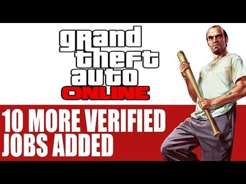 Grand Theft Auto Online News - Rockstar Adds 10 More Verified Jobs To GTA Online   Info & Job Detail