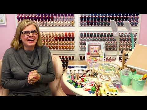 FlossTube #9 - Beginners Cross-Stitch With Kimberly 1/3 - Supplies - Fat Quarter Shop