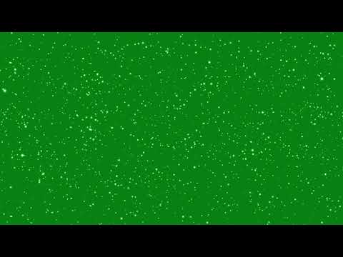 Green Screen Effects -Gold Love Heart Green Screen