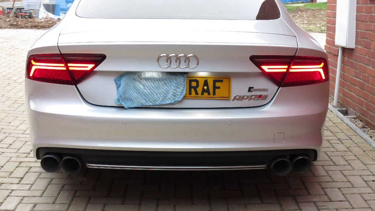 2014 Audi A7 Rear Led Upgrade Youtube
