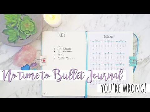 NO TIME TO BULLET JOURNAL | Sam Granger