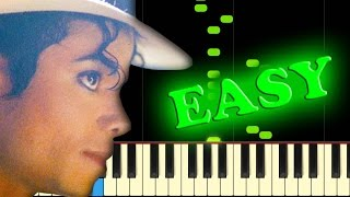 Michael Jackson SMOOTH CRIMINAL - Easy Piano Tutorial.mp3