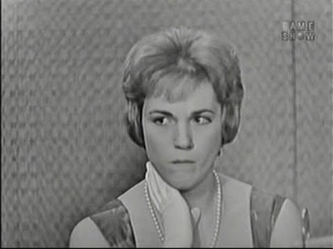 What's My Line?  500th Episode! Julie Andrews; Martyn Green & Martin Gabel panel Feb 7, 1960